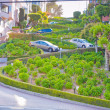 Lombard Street in San Francisco — Stock Photo