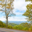 Blue Ridge Parkway road in Autumn. — Stock Photo #35572473