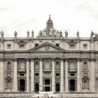 St. Peter Basilica , Vatican, Rome, Italy — Stock Photo #36895621