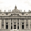 St. Peter Basilica , Vatican, Rome, Italy — Stock Photo
