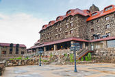 The Omni Grove Park Inn is a old historic resort hotel in Ashevi — Stock Photo