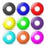 Bingo balls set empty on center — Stock Photo #11470843