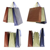 Set of paper bags — Stock Photo