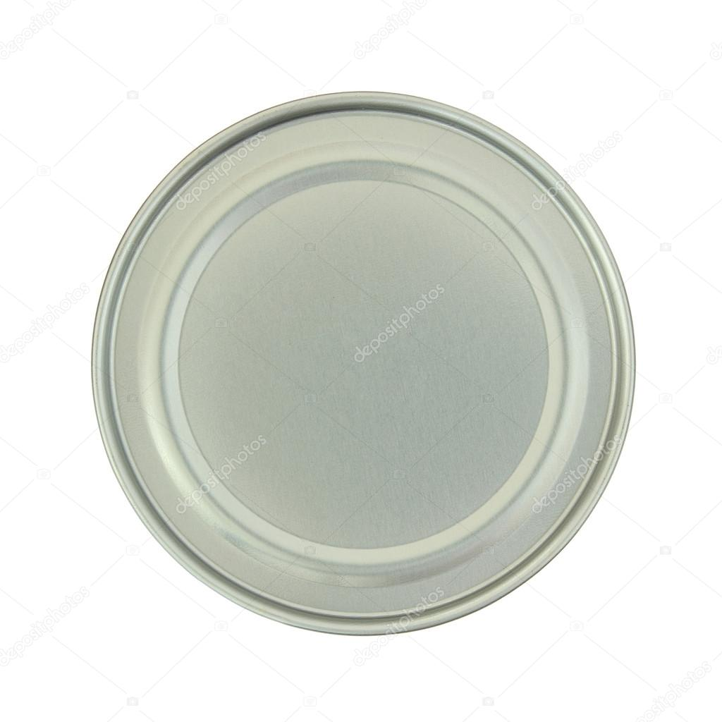 Canned food isolated on white background with clipping path — Stock Photo #13619499