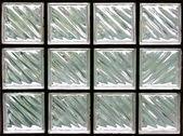 Pattern of Glass Block Wall — Stock Photo
