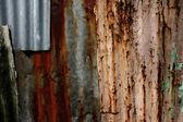 Alte zink-hintergrund — Stockfoto