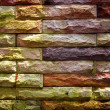Stock Photo: Brick wall textures