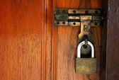Door locked — Stock Photo
