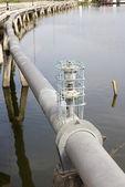 Tuberías del agua industrial — Foto de Stock