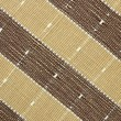 Foto de Stock  : Brown fabric striped texture for background
