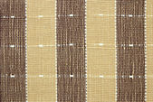 Brown fabric striped texture for background — Stock Photo