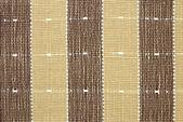 Textura de tela marrón a rayas para el fondo — Foto de Stock