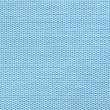 Blue horizontal fabric swatch texture — Stock Photo
