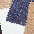 Multi color fabric texture samples — Stock Photo #28691271