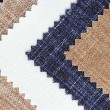 multi color fabric texture samples — Stock Photo #28691633