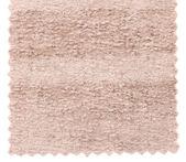 Beige carpet swatch texture samples — Stock Photo