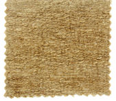 Brown carpet swatch texture samples — Stock Photo