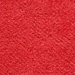 Stock Photo: Red carpet texture