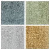 Set of carpet texture — Stock Photo