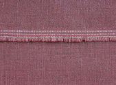 Fabric texture with seam — Stock Photo