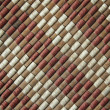 Bamboo woven mat texture or seamless background — Stock Photo #47551375