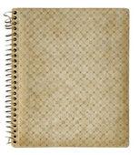 Copertina del libro d'epoca isolato su sfondo bianco con pa di ritaglio — Foto Stock