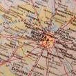Moscow map — Stock Photo #8591063