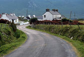Doogort village in Achill island - Ireland — Stock Photo