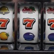 Jackpot on slot machine — Stock Photo