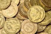 Gold french coin, Napoleon — Stock Photo