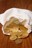 Gold american coins — Stock Photo