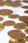 Lot of Gold coins for saving — Stock Photo