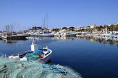 Marina of Bandol in France — Stock Photo