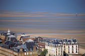 Overview of Deauville in Calvados, France — Stock Photo