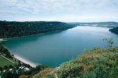 Chalain lake in Jura in Savoy — Stock Photo