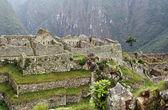 Overview of Machu Picchu in Peru — Stock Photo