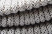 Handmade knitted wool texture — Stock Photo
