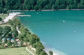 Chalain lake in Jura, France — Stock Photo