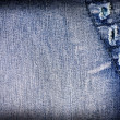 Abstract jeans background - 图库照片