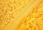 Italian pasta collection background — Stock Photo