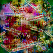 Happy new year abstract background — Stock Photo