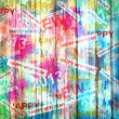 Happy new year abstract background - Foto Stock