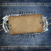 Background denim texture — Foto Stock