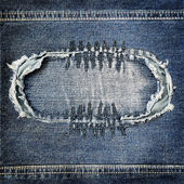 Background denim texture — Stock Photo