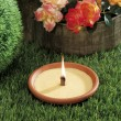 Lemongrass candles for mosquito's prick — Stock Photo