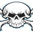 Stock Photo: Skull and crossbones