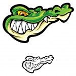 alligator — Vecteur