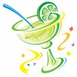 Stock Vector: Margarita