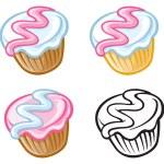 Cupcakes — Stock Vector #20877327