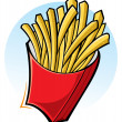 french fries — Image vectorielle